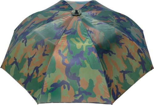 Zebco Erwachsene Schirme Angelschirm 2.20m Camou, Mehrfarbig, 9973221 -