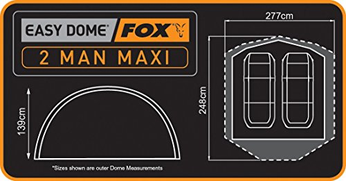 Fox – Easy Dome Maxi 2-Man - 3