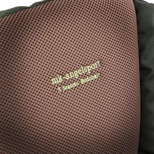 MK-Angelsport – Karpfenliege MK 5 Seasons Pro Deluxe 8-Bein - 6
