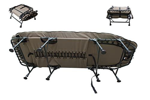 MK-Angelsport – Karpfenliege MK 8 Bein Bedchair Camo Sleeping System - 2