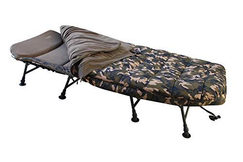 MK-Angelsport – Karpfenliege MK 8 Bein Bedchair Camo Sleeping System - 3