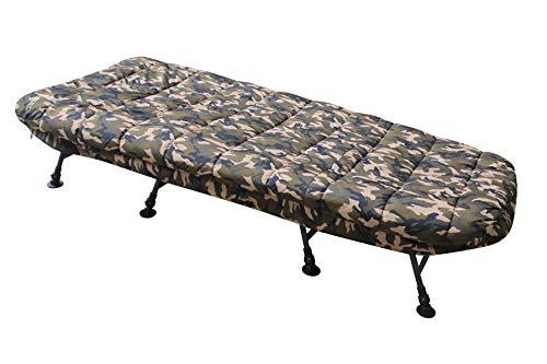 MK-Angelsport – Karpfenliege MK 8 Bein Bedchair Camo Sleeping System - 4