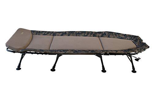 MK-Angelsport – Karpfenliege MK 8 Bein Bedchair Camo Sleeping System - 5