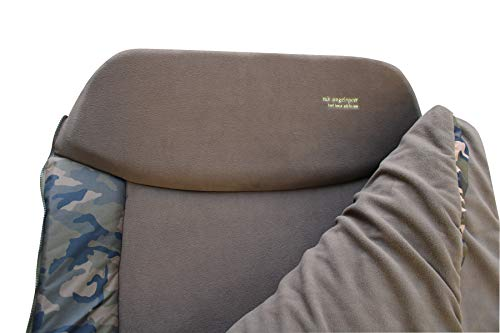 MK-Angelsport – Karpfenliege MK 8 Bein Bedchair Camo Sleeping System - 6