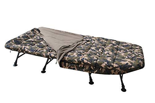 MK-Angelsport – Karpfenliege MK 8 Bein Bedchair Camo Sleeping System - 7