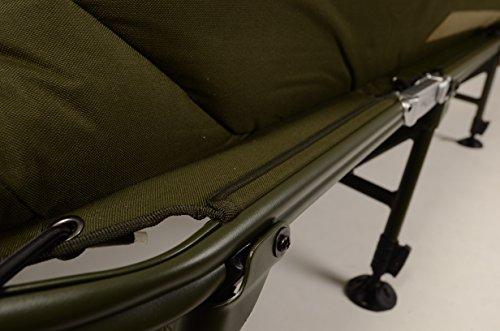 Solar – Karpfenliege SP C-Tech 6-leg Bedchair - 5