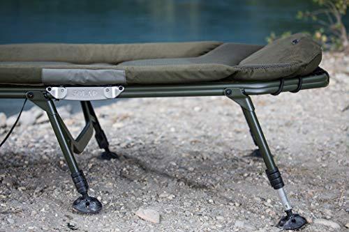 Solar – Karpfenliege SP C-Tech 6-leg Bedchair - 9