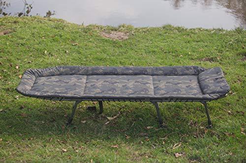 Solar – Karpfenliege 6-Bein Bedchair Camo Undercover - 2