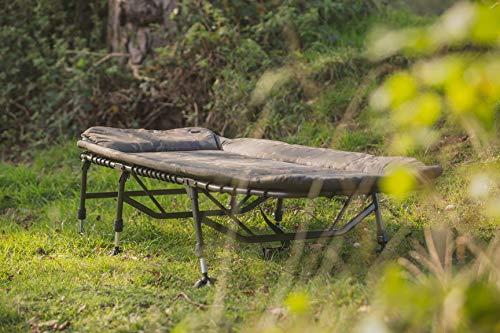 Solar – Karpfenliege 6-Bein Bedchair Camo Undercover - 3