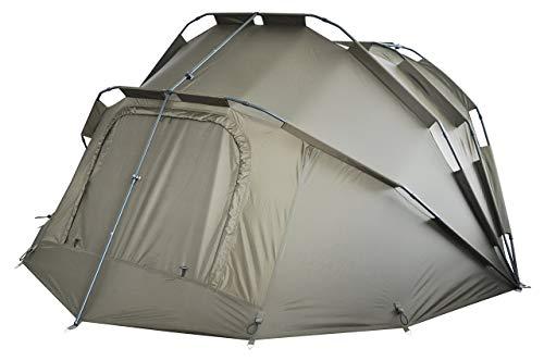MK-Angelsport Fort Knox 2 Personen Zelt Karpfenzelt Angelzelt komplettes Set inkl. Gummihammer Dome Bivvy - 3